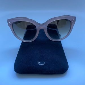 CELINE oversized sunglasses
